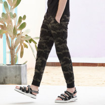 Casual pants N + a Nadia Youth fashion camouflage 155/64A 160/68A 165/72A 170/76A 175/80A 180/84A 170/74A 175/78A 180/82A 185/86A 185/90A 190/94C trousers Other leisure Straight cylinder Micro bomb BO11626 middle-waisted Spring of 2019
