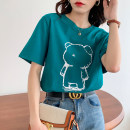 T-shirt green S M L XL Summer 2021 Short sleeve Crew neck easy Regular routine commute cotton 86% (inclusive) -95% (inclusive) 25-29 years old Korean version originality Shurzzeln / Xia Zhen Shurzzeln / Xia Zhen A7 Cotton 95% polyurethane elastic fiber (spandex) 5% Pure e-commerce (online only)