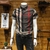 shirt Youth epidemic L Ancient picture official Thin section 112 short sleeves GTS2018Q051900 Cotton 68% polyamide fiber (nylon) 30.2% polyurethane elastic fiber (spandex) 1.8% Plaid Summer of 2018 Pure electricity supplier (only online sales)