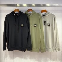 Sweater Youth fashion Others Black, green, grey M,L,XL,2XL Solid color Socket routine Hood autumn easy leisure time youth tide routine cotton printing No iron treatment More than 95% Japanese and Korean style