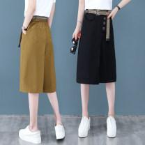 Jeans Summer 2020 Black Khaki Beige Khaki (bd2022) dark green (bd2022) black (bd2022) 26/S 27/M 28/L 29/XL 30/2XL 31/3XL 32/4XL Cropped Trousers High waist Straight pants Thin money 30-34 years old Zipper button Multi Pocket Thin denim light colour MCH9028+ Name lip 31% (inclusive) - 50% (inclusive)