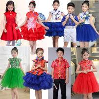 Children's performance clothes neutral 100cm 110cm 120cm 130cm 140cm 150cm 160cm 170cm Han huixiu Class B other Other 100% nylon 2, 3, 4, 5, 6, 7, 8, 9, 10, 11, 12, 14 Autumn 2016