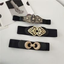 Belt / belt / chain Pu (artificial leather) 2-circle, circle and flower female Versatile Single loop youth soft surface alone Bamiwei 669-/*564526 Spring 2021 yes