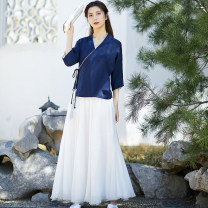 jacket Summer of 2019 S M L Sufei 18-25 years old Polyethylene terephthalate (PET) 95% polyurethane elastic fiber (spandex) 5% Pure e-commerce (online only)