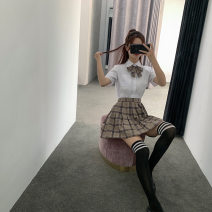 student uniforms Autumn of 2019 S XL L M XXL XXXL Long sleeves skirt 18-25 years old polyester JK12 Polyester 80% cotton 20% Pure e-commerce (online only)