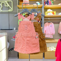 Dress 50B brown, 43P Pink female MLB 110cm,120cm,130cm,145cm Other 100% spring and autumn Korean version other other Strapless skirt 71OP03041 Class B Three, four, five, six, seven, eight, nine, ten, eleven, twelve
