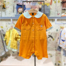 Underwear set 70 for 55 cm, 80 for 65 cm and 90 for 75 cm Or orange, or orange (delivery within 48 hours) Other 100% other moimoln summer neutral Class A M212ROB98P 12 months, under 1 year old, 18 months, 2 years, 3 years old Korean version