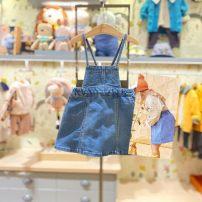 Dress De blue purchasing, de blue (48 hours delivery) female moimoln 100 for about 85CM, 110 for about 95cm, 120 for about 105cm, 130 for about 115cm Other 100% spring and autumn Korean version Skirt / vest cotton other M211SKG37P Class B