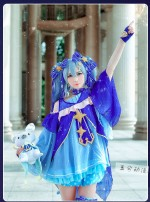 Cosplay women's wear suit goods in stock Over 8 years old L,M,S,XL Yuxi animation Chinese Mainland Hatsune Miku