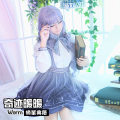 Cosplay women's wear suit goods in stock Over 8 years old Warm clothes , Warm hairpin , shoes , Warm glasses , Warm wig , Bustle , Warm Magic Book , Warm clothes + Wig + Bustle + Hairpin , Complete set Animation, film, games L,M,S,XL Yuxi animation Chinese Mainland Miracle warm