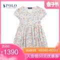 Dress 100 Decor female POLO RALPH LAUREN 4 5 6 6X Modal fiber (modal) 100% modal  A-line skirt CWPODRSR3D20174 Spring 2021 Four, five, six