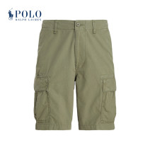 Casual pants POLO RALPH LAUREN Fashion City 300 green 28 29 30 31 32 33 34 35 36 38 40 42 44 46 Shorts (up to knee) Other leisure Straight cylinder MNPOSHO14A20009 2021 Cotton 100% Spring 2021