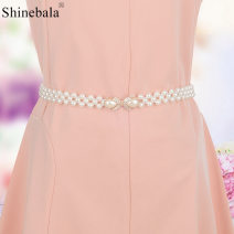 Belt / belt / chain Metal BL-891,BL-892,BL-894,BL-895,BL-896,BL-897,BL-898,BL-899,BL-900,BL-901,BL-902,BL-903,BL-904,BL-905 female Waistband Versatile Single loop Youth, youth, middle age a hook Diamond inlay 2cm alloy Inlay, hollow out, bow, diamond, beading, elastic, flower Shinebala BL-891