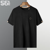 T-shirt / sweater S&561 Fashion City Black red yellow 4XL M L XL 2XL 3XL routine Socket Crew neck Short sleeve SLG3351 winter Slim fit 2020 Viscose (viscose) 67% polyethylene terephthalate (polyester) 33% leisure time tide youth routine letter Winter 2020 washing badge