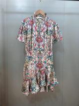 Dress Summer 2020 Picture color 1,2,3 Short skirt singleton  Short sleeve V-neck Type A Other / other