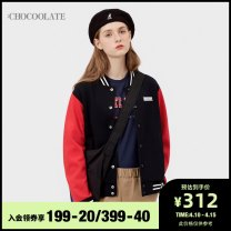 Sweater / sweater Spring 2020 BKX / Black BLD / blue XS S M 51% (inclusive) - 70% (inclusive) :CHOCOOLATE cotton B1XSWL3916XEE Cotton 62.5% polyester 37.5% Same model in shopping mall (sold online and offline)