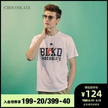 T-shirt Youth fashion GRD / green whx / white NYL / Navy routine S M L XL :CHOCOOLATE Short sleeve other standard Other leisure B1XTEC1351XEE Cotton 100% Spring 2020 Same model in shopping mall (sold online and offline)
