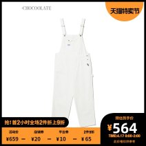 Casual pants BGP / Green IVR / white IVX / white XS S M Spring 2021 trousers rompers Natural waist B1XPTL6621XSG :CHOCOOLATE Cotton 100% Same model in shopping mall (sold online and offline)