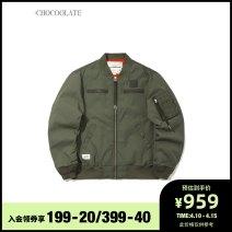 Jacket :CHOCOOLATE Youth fashion BGB / Brown BKX / Black Kha / Khaki S M L XL standard Other leisure B1XLJC7311XSG Polyamide fiber (nylon) 100% Spring 2021 Same model in shopping mall (sold online and offline)