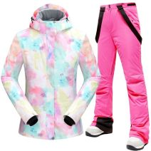 Ski suit OWFZE_ one trillion and six hundred and eleven billion two hundred and eighty-two million seven hundred and forty-five thousand nine hundred and ten Dunlang female 501-1000 yuan Multi color pants can be matched with XL L M S Windbreak Winter of 2019 China routine polyester fiber other