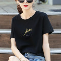 T-shirt M L XL XXL Summer 2021 Short sleeve Crew neck easy Regular routine commute cotton 96% and above 18-24 years old Korean version youth It's always warm Cotton 100% Pure e-commerce (online only)