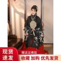 Hanfu 96% and above Winter of 2019 Single upper coat black single upper coat white single horse skirt red single horse skirt Navy Blue single horse Skirt Pink single pleated skirt red single pleated skirt Navy Blue single Pleated Skirt Pink single upper coat red S M L XL polyester fiber