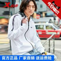 Sports jacket / jacket XTEP / Tebu male S (adult), m (adult), l (adult), XL (adult), 2XL, 3XL Autumn of 2019 Hood zipper