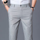 Casual pants FGN / rich bird Youth fashion 29 30 31 32 33 34 35 36 38 40 42 thin trousers motion Self cultivation Micro bomb summer youth tide 2021 middle-waisted Straight cylinder Sports pants Pocket decoration No iron treatment Solid color other polyester fiber Summer 2021