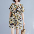 Fashion suit Summer 2020 L XL XXL Over 35 years old Colorful flowers Other 100% Pure e-commerce (online only)