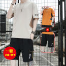 Leisure sports suit Short sleeve summer UNS shorts youth T-shirt UNSMT2122KQ-C cotton Summer 2021 100% cotton 2122 Khaki suit 2122 orange 2122 black 2123 white 2123 blue 2123 iron grey 2124 white 2124 yellow 2124 iron grey M L XL 2XL 3XL 4XL