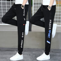 Casual pants Wai San Youth fashion M L XL 2XL 3XL routine trousers Other leisure Self cultivation Micro bomb WS-XS-8891 spring teenagers tide 2020 middle-waisted Little feet Polyester fiber 68.6% viscose fiber (viscose fiber) 26.3% polyurethane elastic fiber (spandex) 5.1% Sports pants other