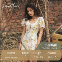 Dress Summer 2020 Doll collar (in stock) French lapel (in stock) S M L Short skirt singleton  commute 18-24 years old since then Retro DQ200320 More than 95% other Other 100% Pure e-commerce (online only)