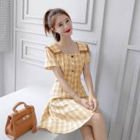 Wedding dress Spring 2021 Yellow s yellow m yellow l yellow XL Collection priority delivery Pat Polly Pure e-commerce (online only) Other 100%