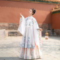 Hanfu 96% and above Summer 2021 One vertical collar cardigan - one waist pleated skirt on May 10 - one vertical collar cardigan on May 10 - one waist pleated skirt on June 20 XS S M L XL polyester fiber
