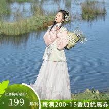Hanfu 96% and above Winter 2020 XS S M L XL polyester fiber