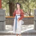 Hanfu 96% and above Summer 2021 1 straight neck cardigan - 1 two piece skirt on April 30 - 1 straight neck cardigan on April 30 - 1 two piece skirt on June 20 - June 20 XS S M L XL polyester fiber
