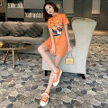 cheongsam Summer 2020 S M L 20087 orange 20099 black 20084 black 20101 green Short sleeve Short cheongsam Retro No slits daily Oblique lapel Cartoon animation 18-25 years old Piping MR20087 Mashed wheat other Other 100% Pure e-commerce (online only) 96% and above