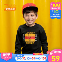 Sweater / sweater Anta male 110cm 120cm 130cm 101cm spring and autumn nothing motion Socket routine Official pictures cotton Cartoon animation Cotton 90% polyester 10% Cotton liner Autumn of 2019