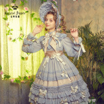 Lolita / soft girl / dress Classic puppets Blue gray, smoke pink, generative color S [end of April], m [end of April], l [end of April] Pre sale Lolita