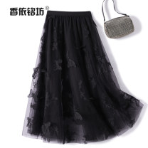 skirt Autumn 2020 Average size Black (5 days in advance) apricot (5 days in advance) Mid length dress street Natural waist A-line skirt Animal design Type A 25-29 years old More than 95% Xiangyi Mingfang other Other 100% Europe and America