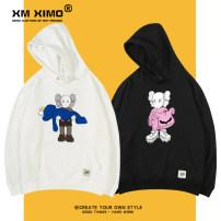 Sweater Youth fashion Ximo S M L XL 2XL 3XL Sesame Street Socket routine Crew neck winter easy leisure time teenagers tide routine Fleece  Cotton 100% cotton printing No iron treatment Winter of 2019 More than 95% Exclusive payment of tmall simple style