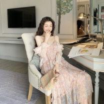 Wedding dress Summer 2020 Light pink suspender skirt yellow suspender skirt S M L XL s3.2150653w Medino Pure e-commerce (online only) Other 100%