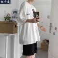 Leisure sports suit summer 4XL S M L XL 2XL 3XL 5XL elbow sleeve Duca Hawk Pant teenagers T-shirt D-T-20060881 cotton Summer 2020 cotton