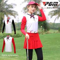 Golf apparel XS,S,M,L,XL female PGM Long sleeve T-shirt