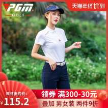 Golf apparel Yf271 white top, kuz069 Navy Pants, kuz069 white pants, kuz069 red pants XS,S,M,L,XL female Oana  t-shirt  YF271
