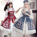 Dress Spring 2021 Usually wear L, XL can wear L size, usually wear s, M size can wear s size, L size, s size Middle-skirt Sleeveless Sweet High waist Socket Princess Dress camisole 18-24 years old Type A jacquard weave Zhang Hua Lolita