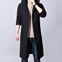 cotton-padded clothes black 4XL L XL 2XL 3XL Fashion City thickening have more cash than can be accounted for standard Other leisure Polyester 100% Hood middle age zipper Business Casual Washed cotton other Autumn of 2019 other Three dimensional bag Pure e-commerce (online only) other polyester fiber