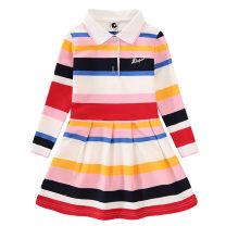 Golf clothing KEROMIE For children 110CM,120CM,130CM,140CM,150CM,160CM Lapel cotton Long sleeves Field training clothes suit ventilation