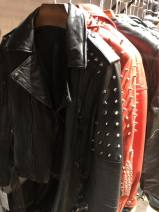 leather clothing Other / other Autumn of 2019 155/80A,160/84A,165/88A,170/92A,175/96A Black rivet, red rivet have cash less than that is registered in the accounts Long sleeves Self cultivation street tailored collar zipper other Sheepskin Make old 30-34 years old 91% (inclusive) - 95% (inclusive)