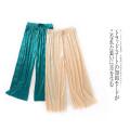 Casual pants Off white b-6-28-4, deep pink b-6-28-4, green b-6-28-4 Average size Summer 2020 Ninth pants Wide leg pants Natural waist Versatile Thin money Lady Boya